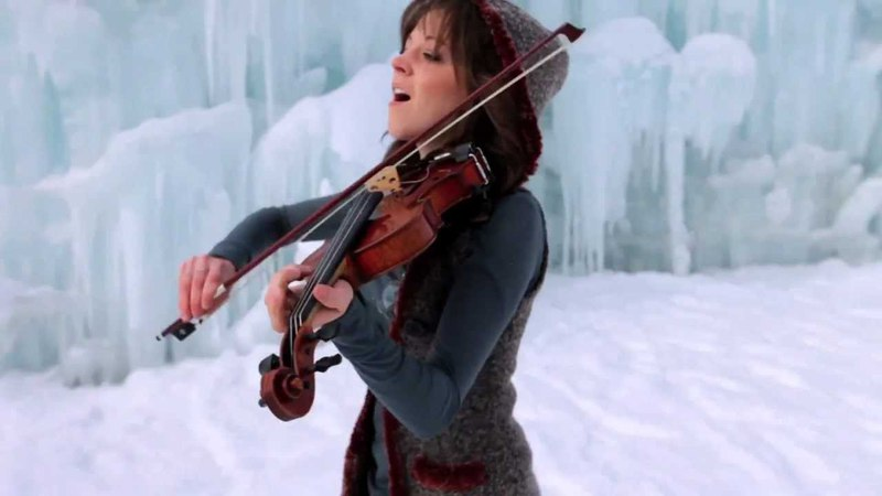Dubstep Violin Original- Lindsey Stirling- Crystallize FUUL HD