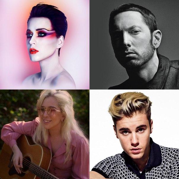 Артисты с наибольшим количеством бриллиантовых синглов в США: