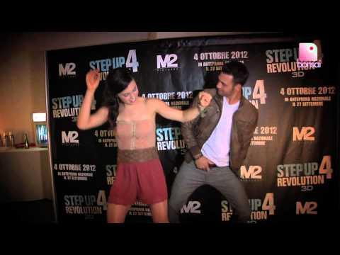 Ryan Guzman and Kathryn McCormick dancing Gangnam Style - Step Up 4