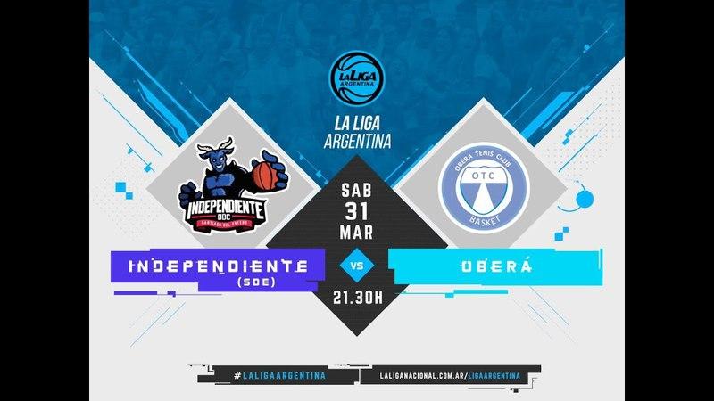 LaLigaArgentina | 31.03.2018 Independiente de Santiago del Estero vs. Oberá Tenis Club
