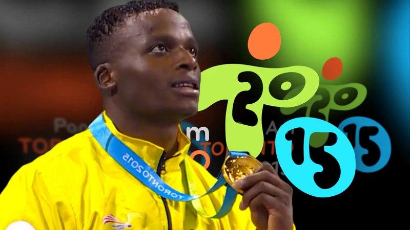84 kg MINA (ECU) VS CASTILLO (DOM) Karate Toronto 2015 Pan Am FINAL Peleas