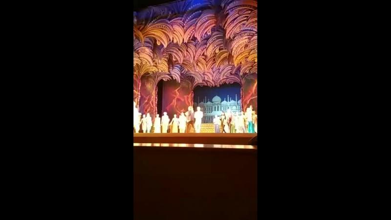 Тысяча и одна ночь. Театр оперы и балета РК.