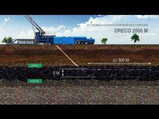 Установка наклонного бурения скважин DRECO-2000. ПАО