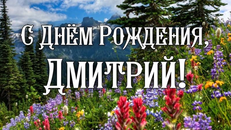 С Днем Рождения Дмитрий! Поздравления С Днем Рождения Дмитрию. С Днем Рождения Д