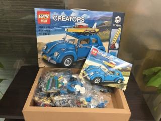 Конструктор LEPIN 21003 Фольксваген Жук | аналог Lego Creator 10252