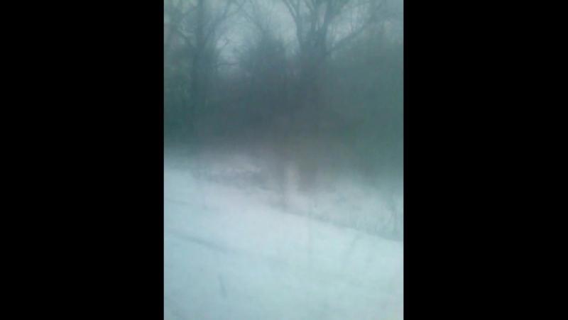 авария в городе Снежном