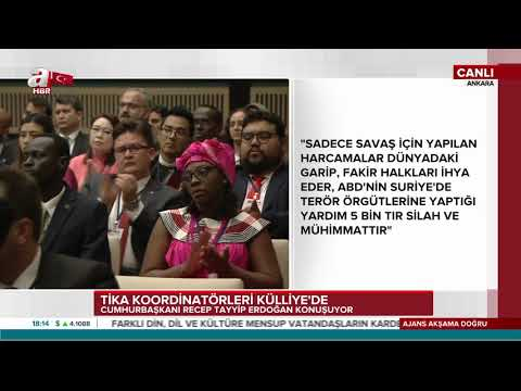 Cumhurbaşkanı Erdoğanın Tika Koordinatörlerine Konuşması 10.4.2018