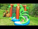 Игрушки от Лайк Настя Новая серия про Супер Батут Видео для детей