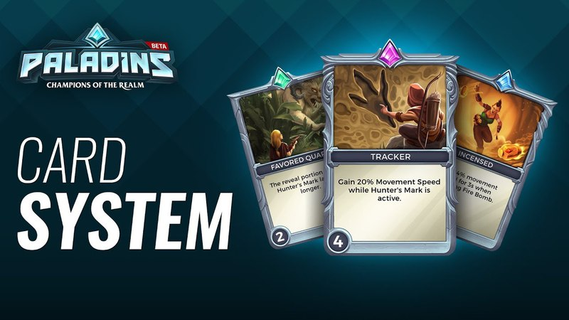 Paladins - Card System Tutorial