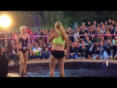 Sexy Womens mud wrestling Seksi kadınlar güreşi Turkey Applications Storm