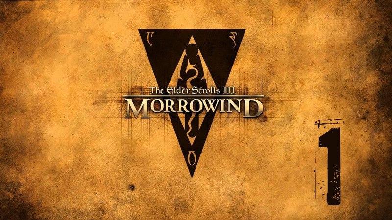Morrowind летсплей серия 1 Добро пожаловать в Морровинд или Маленькие приключения зека в Сейда Нин