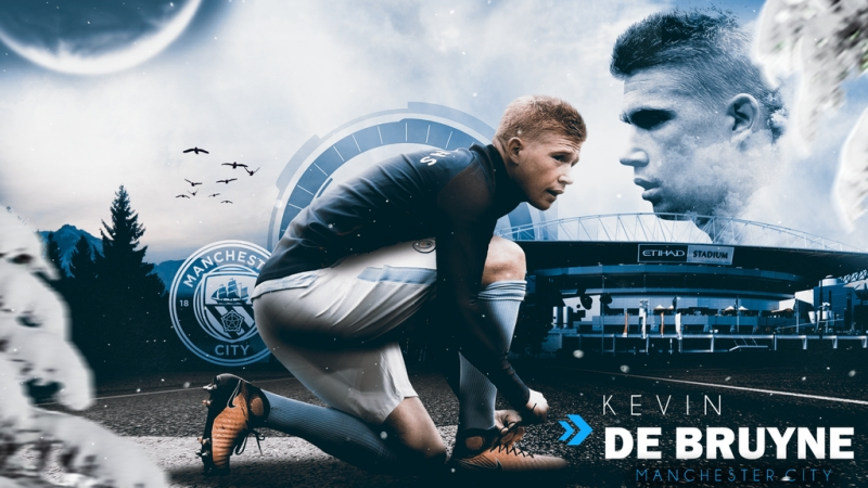 Kevin De Bruyne 2017/2018 ● Perfect Passing, Assists, Goals