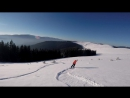 Free fall in Bukovel -
