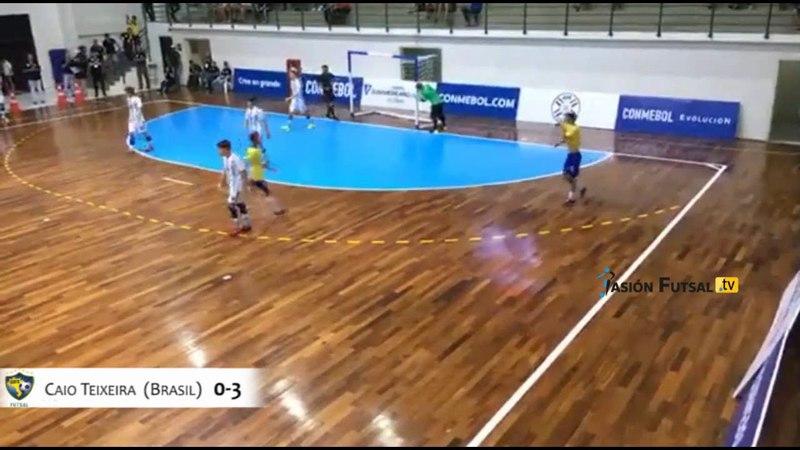Pasión Futsal TV: Argentina 2-Brasil 3 (Eliminatorias YOG 2018-Final) FUTSAL AFA