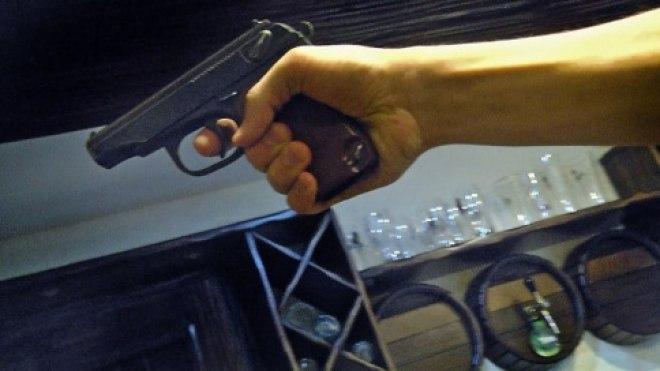 В Симферопольском баре расстреляли посетителя