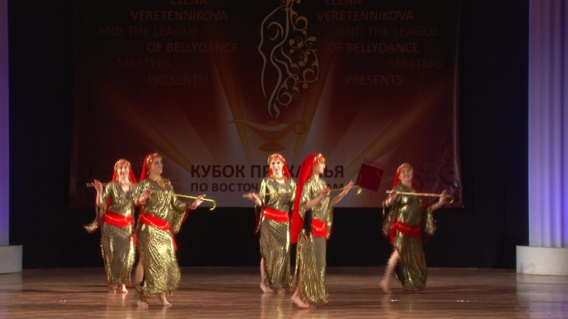 Саиди египетский фольклорный танец Группа Шахира 12 Кубок Прикамья по восточным танцам 10 марта 2018 г Пермь