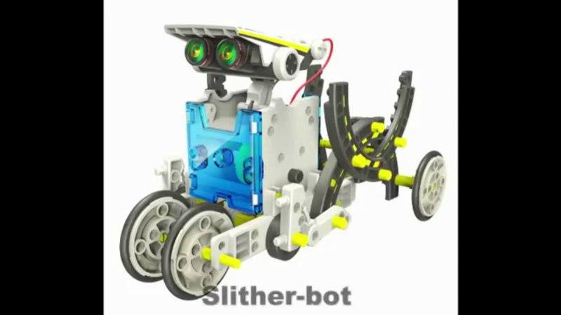 Демонстрация всех 14 роботов из конструктора 14 в 1