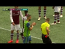 Clint Dempsey sent off for arm to the head of Mike da Fonte