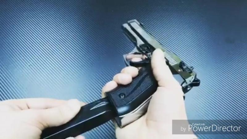 👑Появилась Beretta 92FS Jackal Dual 9mm Шакал скорострельность 1100 выстрелов в минуту в автоматическом режиме 👊😈 Патрон 9мм