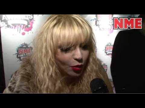 NME Awards 2010 - Courtney Love