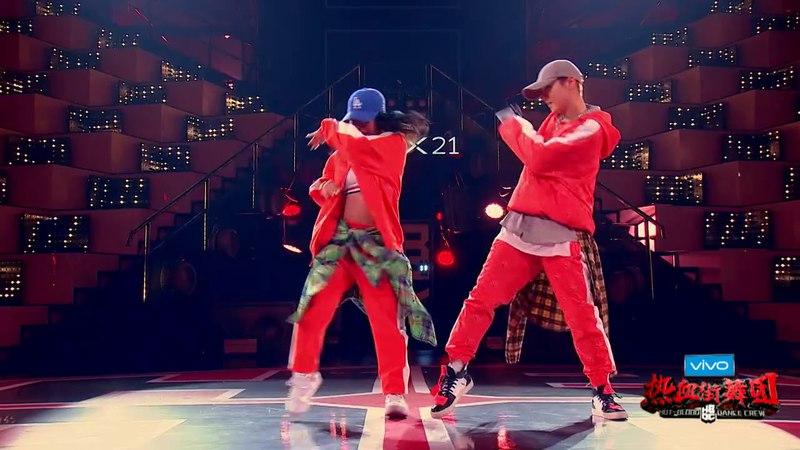 [DANCE] 180317 LuHan鹿晗 and Rie Hata CUT Ep 1 - Hot Blood Dance Crew 《热血街舞团》
