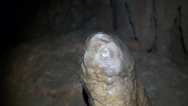 Внутри Братановой пещеры.