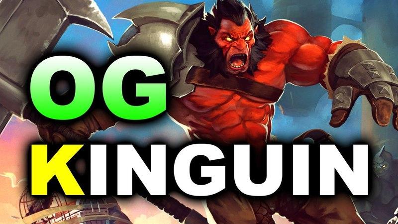 OG vs KINGUIN - GRAND FINAL EU - ESL Birmingham MAJOR DOTA 2