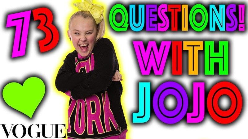 73 Questions with JoJo Siwa!! **PARODY**
