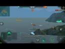 Крейсер Аврора в World of Warships Blitz, 1 бой