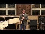Yashitaki Mikimoto. Charlie Parker. Performing Jaunius Gulbinas (saxsophone)