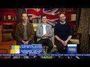 Entrevista Benedict Cumberbatch Tom Hiddleston y Tom Holland en GMA por Avengers Infinity War