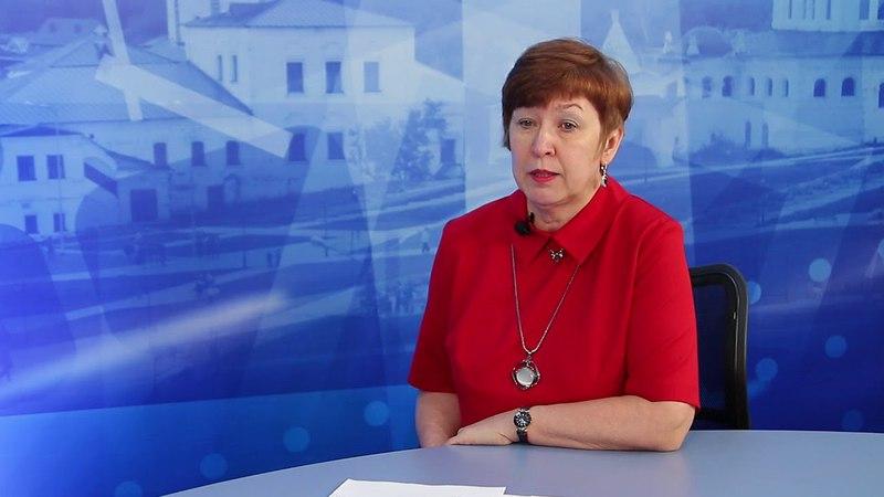 Гость студии главный специалист управления образования г.Соликамска Ольга Чукреева
