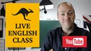 Live English class November 22, 2016 Canguro English