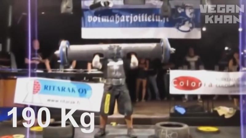 ПАТРИК БАБУМЯН - самый сильный человек в мире и вегетарианец