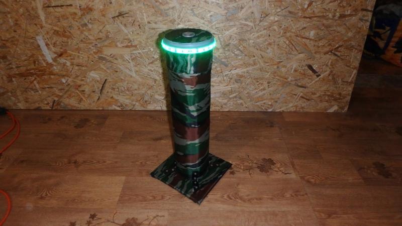 Новый дизайн Контрольной точки - лазертаг
