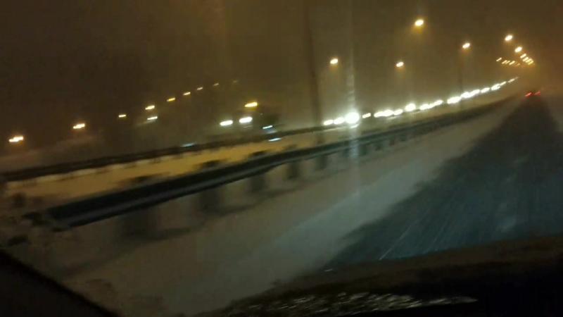 Ну вот и Монреаль 550км от Торонто снежных дорог доехали без приключений завтра на Квебек