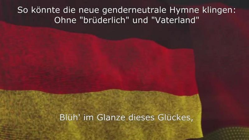 """""""Heimatland"""" statt """"Vaterland"""": So würde die genderneutrale Nationalhymne klingen, die die Gleichstellungsbeauftragte fordert."""