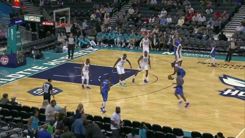 Баскетбол. NBA. Предсезонные матчи Даллас – Шарлотт. Обзор матча (Баскетбол. НБА) 14 октября 2017