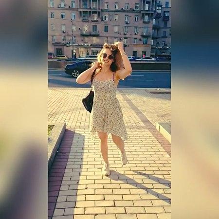 """Julia Margulis on Instagram Я🙋🏼 город❤️ солнце😎 таинственный оператор😜Ииии да новое платье💃🏻 Ещё больше на @margulislive"""""""