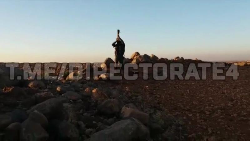"""Момент сбития сирийского самолета L-39 из ПЗРК """"Стрела-3""""."""