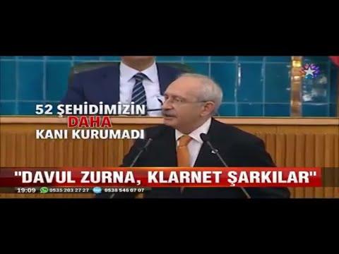 Kemal Kılıçdaroğlundan İbrahim Tatlısese Yüreğin Yetiyorsa Yaylalar Türküsünü