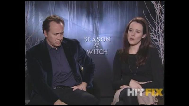 2011 › Интервью для «HitFix» в рамках промо-тура фильма «Время ведьм»