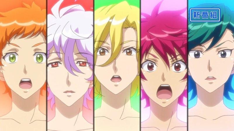 Новый тизер аниме Binan Koukou Chikyuu Bouei-bu Happy Kiss