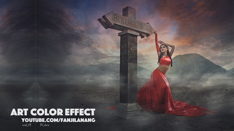 How to Make Dramatic Photo Fantasy ART Effect | Photoshop CC Tutorial