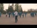 «Астана Жастары» қазақстандық кәсіпқой боксшы, ел мақтанышы - Қанат Исламды қолдау мақсатында флешмоб ұйымдастырыпты.