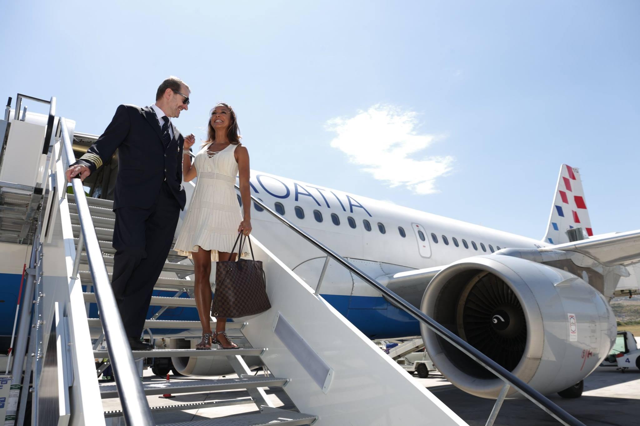 Лайнер авиакомпании после очередного рейса