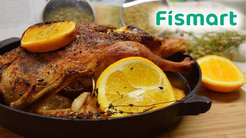 Рецепт запеченной утки от Fismart