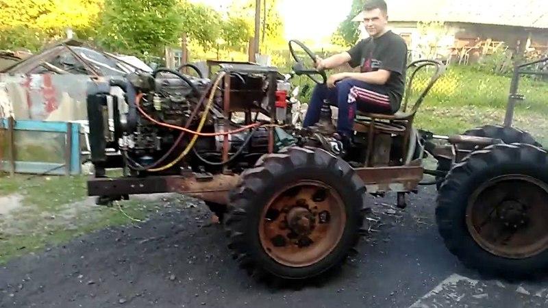Саморобний трактор 4х4 Частина 2