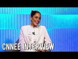 Tini Stoessel Interview with Longobardi for CNN Espanol