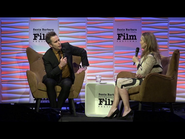 SBIFF 2018 Sam Rockwell Discusses Confessions of A Dangerous Mind